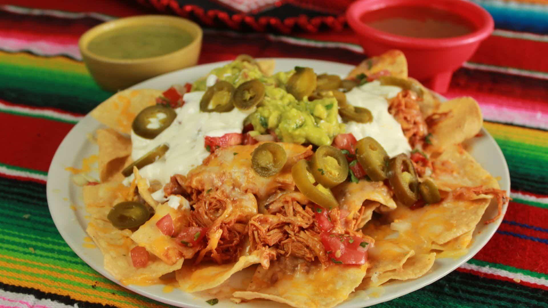 Loco Charlie's Mexican Grill Chicken Nachos
