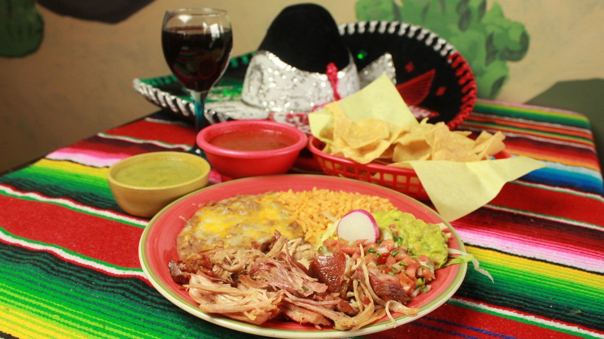Loco Charlie's Mexican Grill Chicken Platter